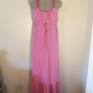 Carve Designs organic cotton maxi dress L